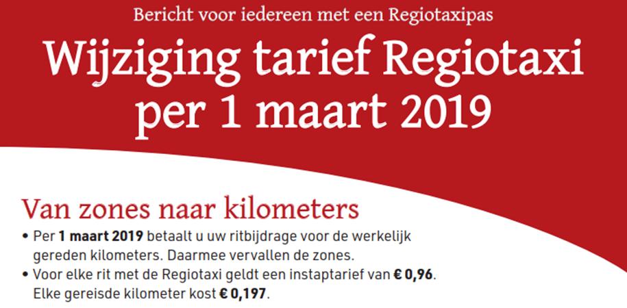Twentse vervoerders starten met nieuwe regeling Regiotaxi