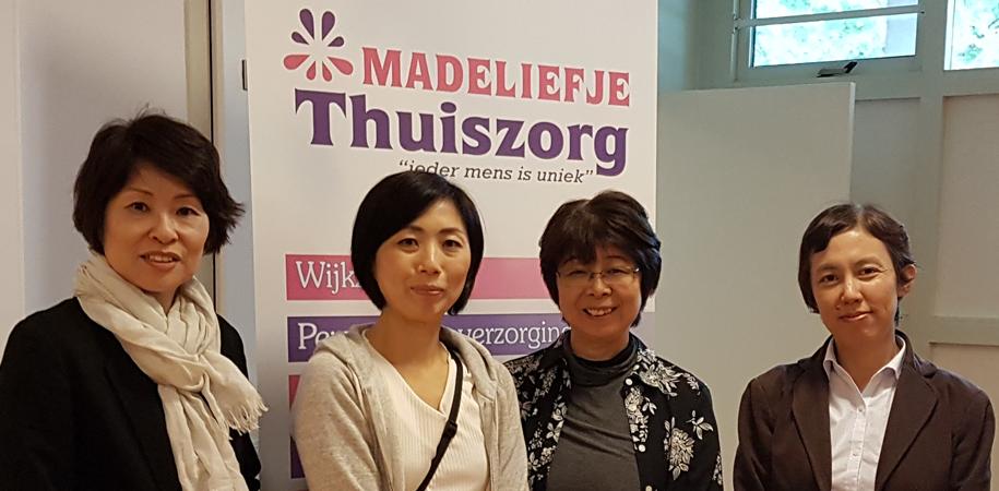 Madeliefje Thuiszorg krijgt werkbezoek uit Japan